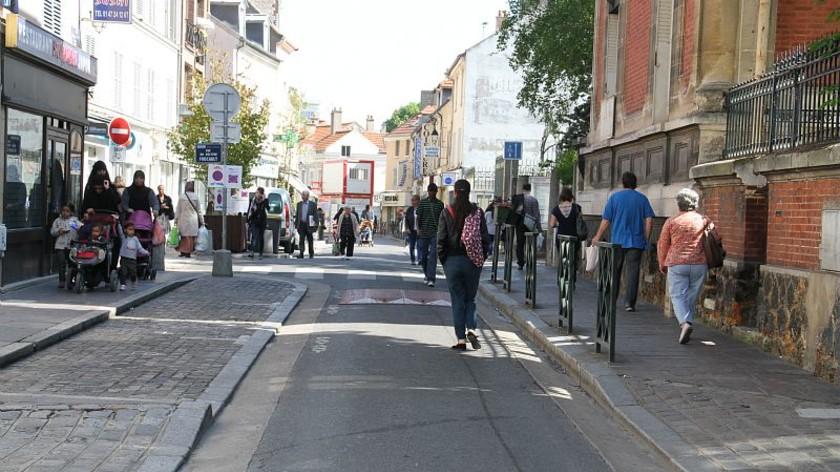 Piétonnisation du coeur de ville de Nanterre - Tassou Gestion